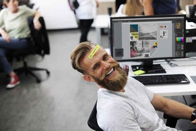 Ein arbeitsfähiger und glücklicher Mitarbeiter